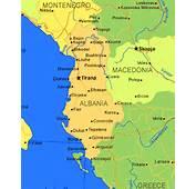 Albania Carta Geografica E Mappa