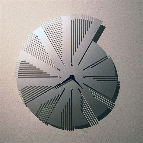 Metal Ornaments Home Decor time flies wall clock by john nalevanko metal clock