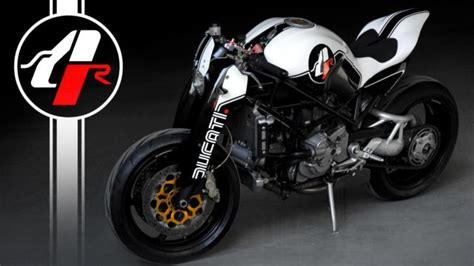 Custom Ducati Monster MS4R By Paolo Tesio   autoevolution