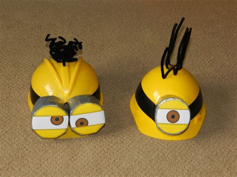 How To Make A Minion Out Of Construction Paper - our despicable me minion hats for 2013 made