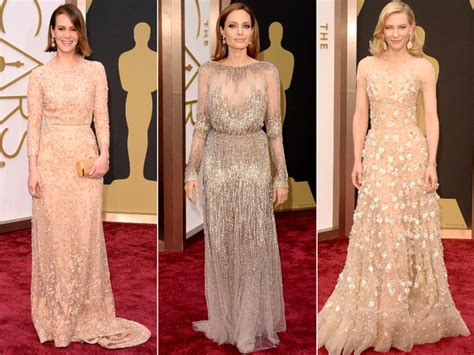 Oscar Trends To Inky Blue by Oscar Dresses 2014 Carpet Trends