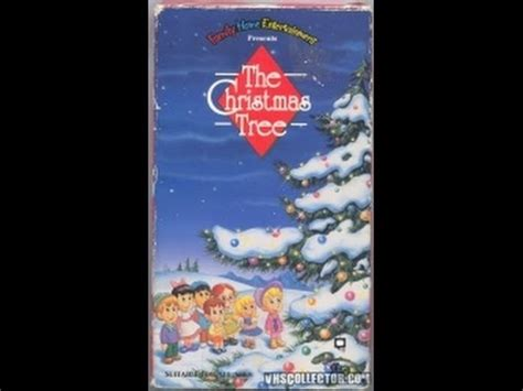 opening to the christmas tree 1991 vhs youtube