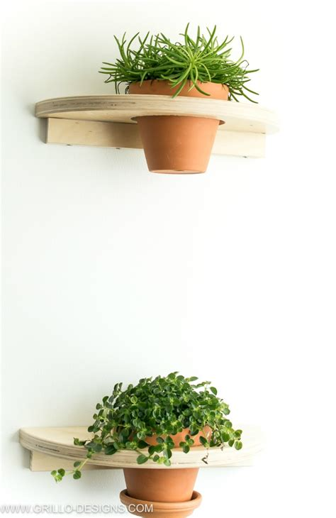 ikea planter hack diy a pair of cute plant shelves ikea hackers ikea hackers