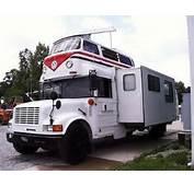 Rvtravelcom Comes This Unusual Combination School Bus VW And RV