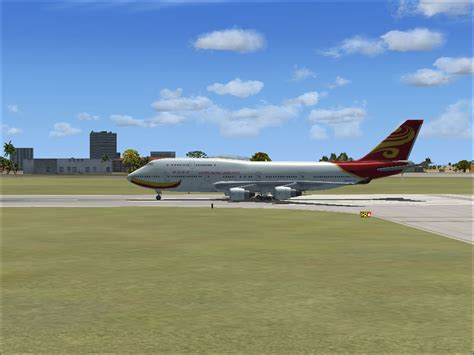 Hong Kong Airlines Boeing 747-400 for FSX