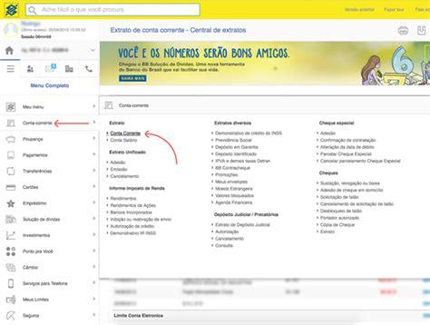 extrato rendimentos banco do brasil como gerar ofx no banco do brasil