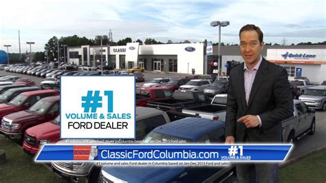 Classic Ford Columbia by Classic Ford Of Columbia 1 Volume Sales Ford Dealer