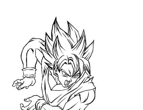 dragon ball z coloring pages goku kamehameha goku s kamehameha by darkhawk5 on deviantart