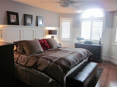 picture of a bedroom master bedroom wainscoting completely type a