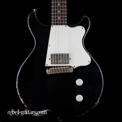 rock n roll relics rebel guitars rock n roll relics thunders dc humbucker in black rebel