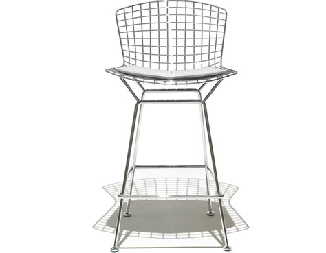 bertoia stuhl bertoia stool with seat cushion hivemodern