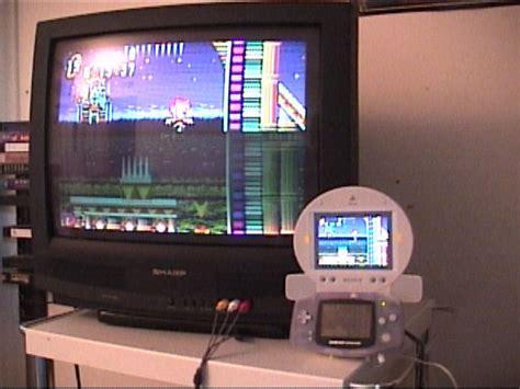 Tv Advance Lcd gba to psone lcd project miracleray konlabs