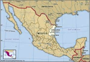 Tamaulipas Mexico Map by Tamaulipas Kids Encyclopedia Children S Homework Help