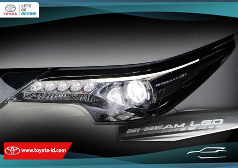 Proyektor Paling Bagus mengenali fitur lu toyota all new fortuner bi beam led toyota astra indonesia