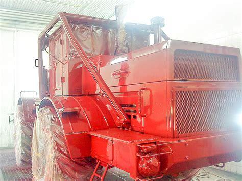 Traktor Richtig Lackieren by Lackierung Landmaschinen Und Agrartechnik Traktoren In
