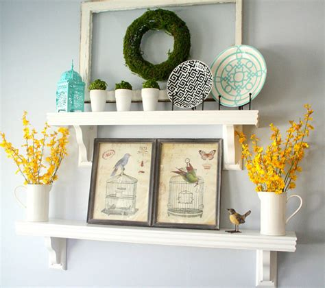 things to put on shelves красивые полки идеи оформления стен фото