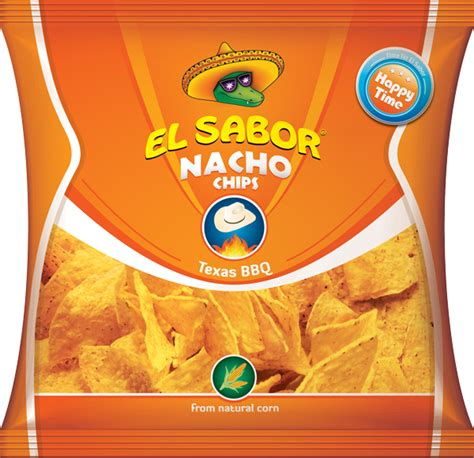 El Sabor Nacho Chip Bbq Salted Chili Flavour Bbq View Product