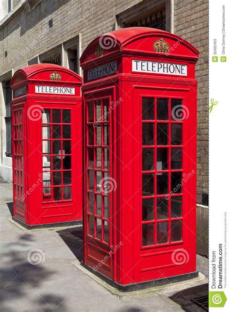 mappa cabine telefoniche cabine telefoniche rosse a londra fotografie stock