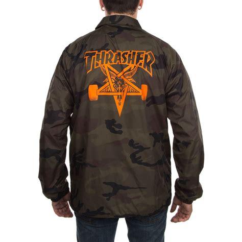 thrasher skategoat coach jacket camo