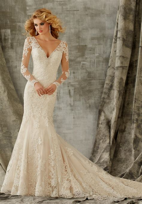 Sle Designer Wedding Dresses the gallery for gt lace wedding dresses 2014