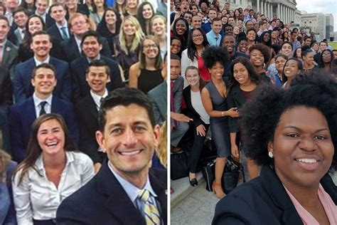 house republicans gop and dem intern class photos show diversity differences nbc news