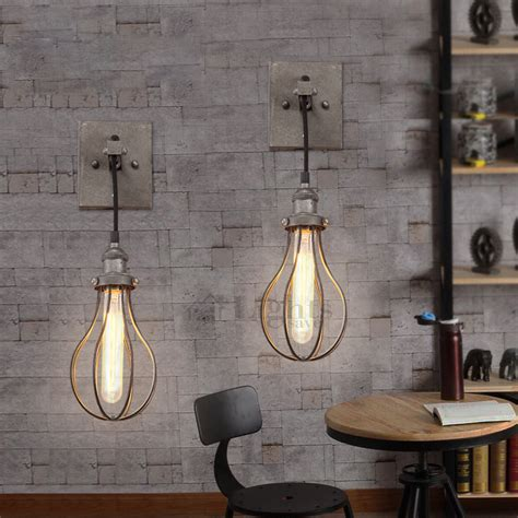 Vintage Industrial Wall Sconce Antique Industrial Wall Sconce Light Savary Homes