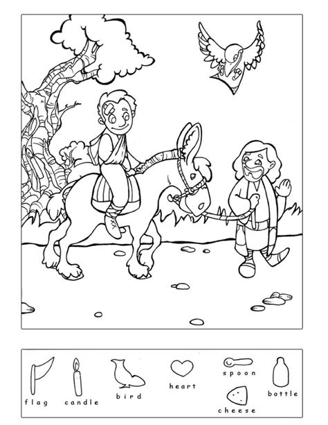 religious hidden pictures printable preschool bible puzzles