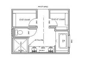 his and bathroom floor plans master bath closet floor plans woodworking projects plans