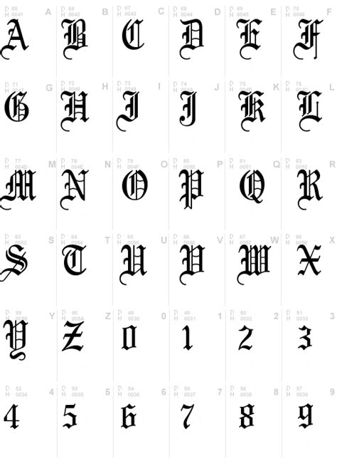 Olde English Regular Font, Download Olde English Regular