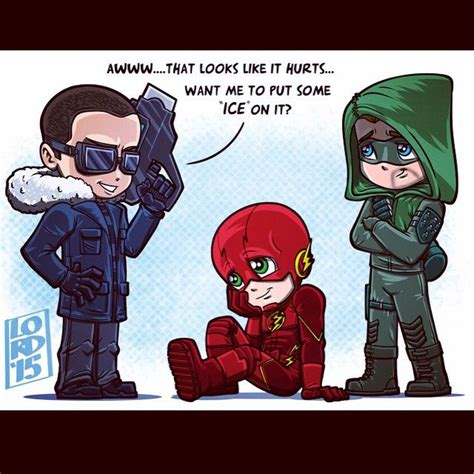 and cold fan welcome to the arrow flash captain cold fanart by