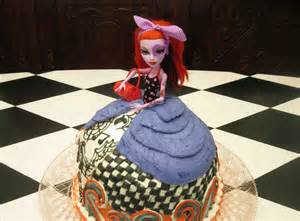 how to make a monster high barbie doll cake diy cake decorating youtube