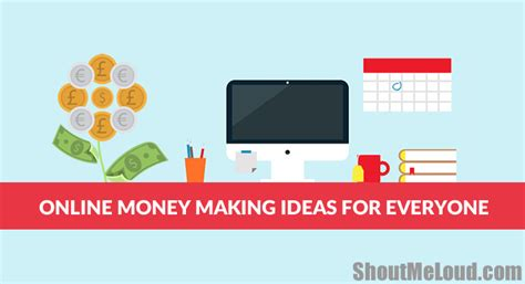 Ideas For Making Money Online - six major online money making ideas for everyone