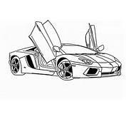 Lamborghini Aventador Drawing Outline  DiyMidcom