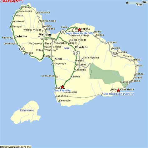 printable road map maui hawaii map of maui hawaii afputra com