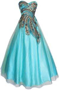 Turquoise long ball gown prom dresses in peacock print for plus size