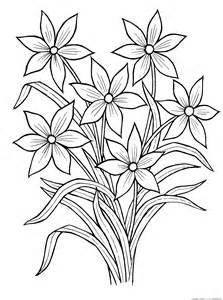 Раскраски про цветы