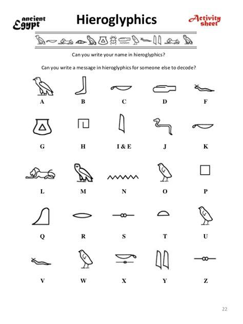 Hieroglyphics Worksheet by Printables Hieroglyphics Worksheet Happywheelsfreak
