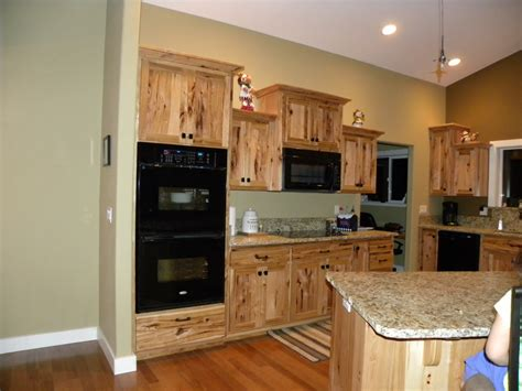 river custom cabinets rustic hickory cabinets shaker style doors