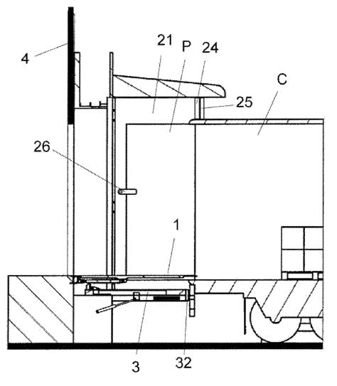 loading dock section patent us8733034 loading bay google patents
