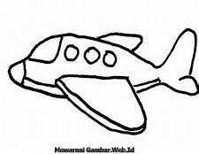 Gambar Pesawat Kartun