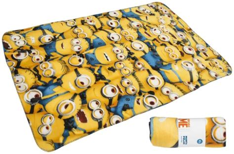 Despicable Me Minion Blanket by Despicable Me Minions Expressions Panel Fleece Blanket