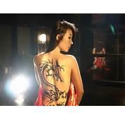 Dragon On Chinese Girl Tattoo