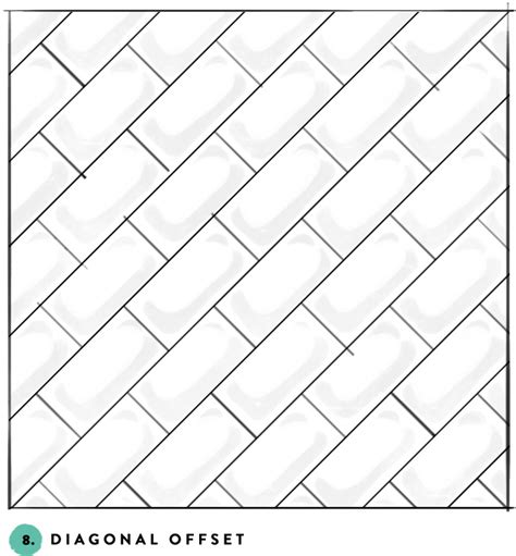 tile pattern offset subway tile designs inspiration a beautiful mess