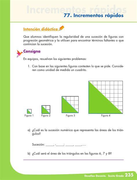 issuu matematicas 6 grado contestado desafios matematicos docente 6 186 sexto grado primaria by
