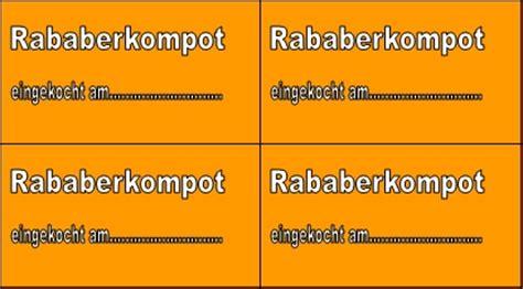 Etiketten Erstellen Publisher by Rababerkompot Etikett Office Lernen
