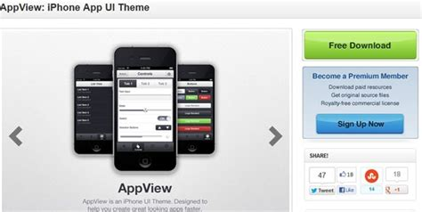 ui themes for iphone 30 best ui design tools kits and resources artatm