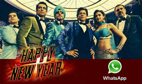 new years trailor happy new year trailer to be shared by shah rukh khan on