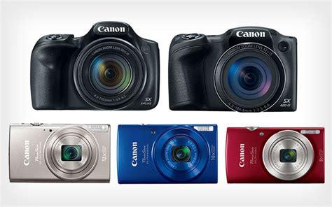 newest canon canon announces 5 new powershot cameras