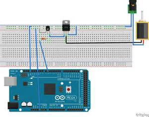 tip120 transistor base current from arduino