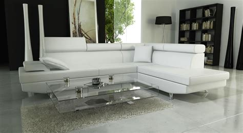 canape cuir blanc design photos canap 233 d angle cuir blanc design